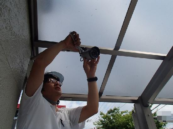 バルコニーテラス監視カメラ