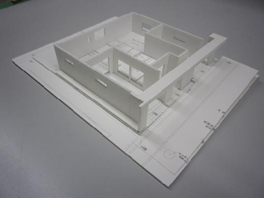 超特急で作る住宅模型!RCガレージハウス!!1F