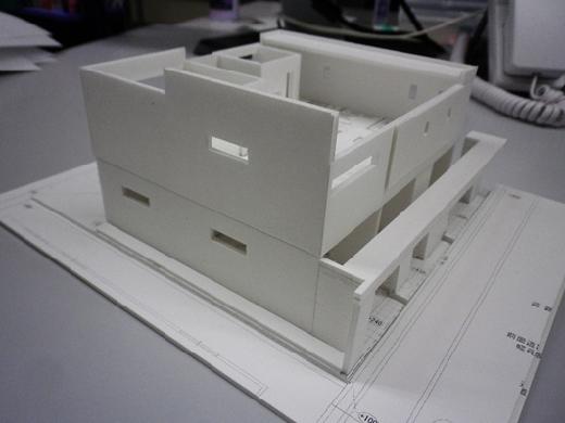 超特急で作る住宅模型!RCガレージハウス!!2F