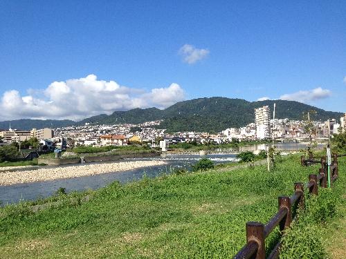 武庫川風景