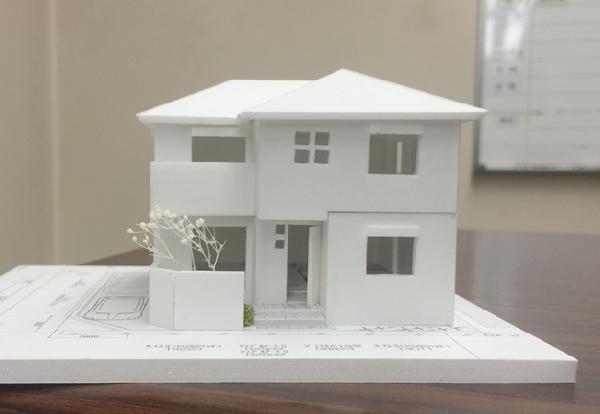 建築模型完成