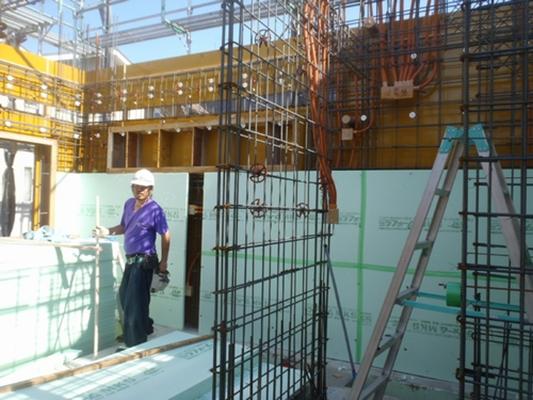 三和建設のRC住宅は、「内断熱」を標準仕様としています