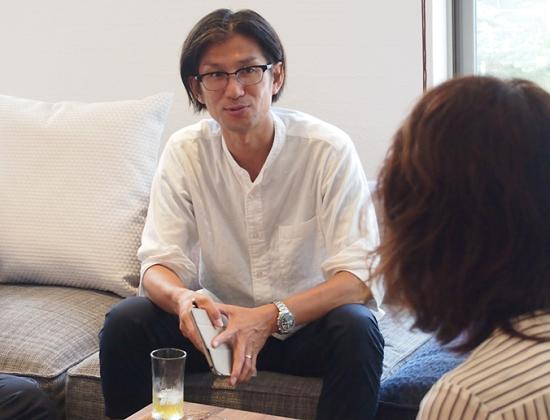 信和ゴルフグループ会報誌への掲載企画 対談①