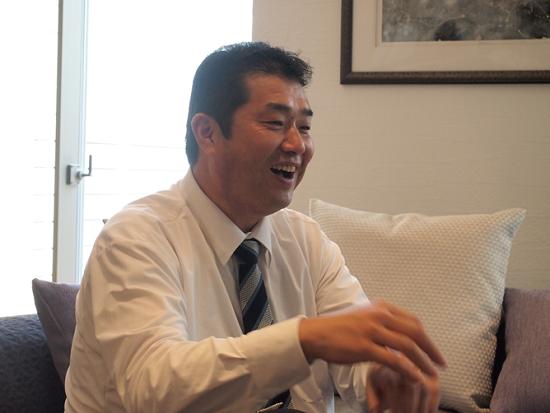 信和ゴルフグループ会報誌への掲載企画 対談②