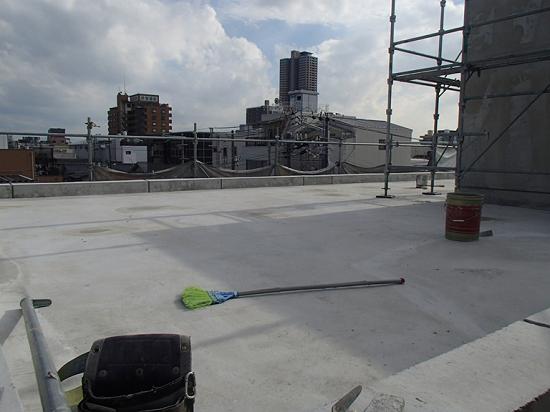 RCの建物は屋上利用がしやすい