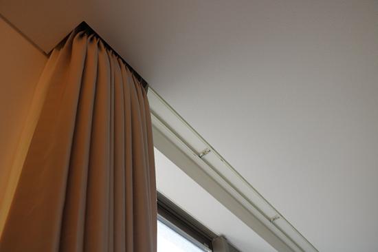 「天井埋め込み」タイプカーテンボックス