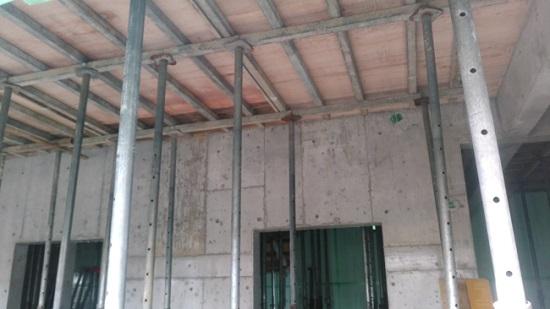 堺市内RC造医院現場リポート 2階部分