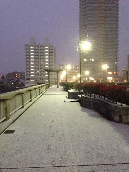 2017.1.15宝塚雪景色