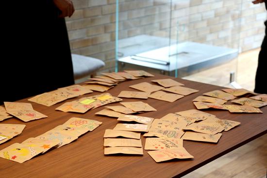 手書きデザインパッケージでブレンド珈琲とホットチョコを作るワークショップ⑯