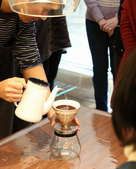 手書きデザインパッケージでブレンド珈琲とホットチョコを作るワークショップ⑳