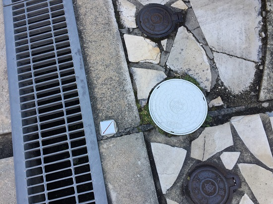 下水道 宅地内に汚水最終マスが無い場合引込工事が必要