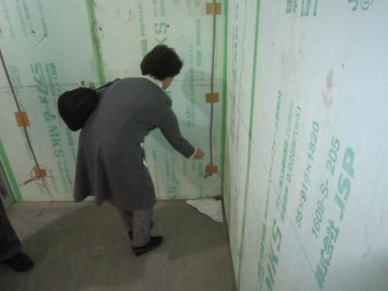 大阪・堺市RC造2階建医院建築現場上棟式「四方清祓い」①