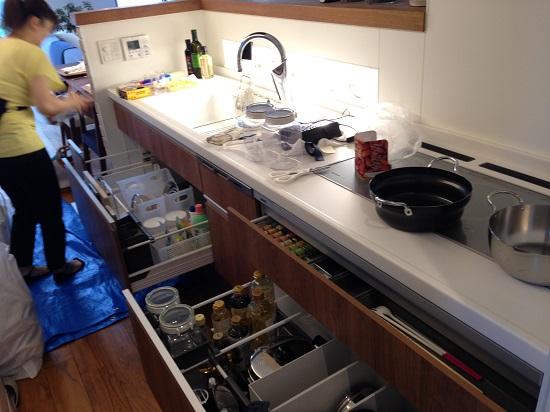 2016.8月キッチン収納風景