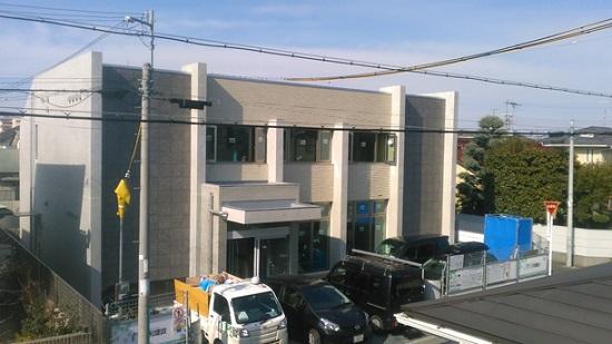 大阪の堺市で建築中の医院建築現場リポート①