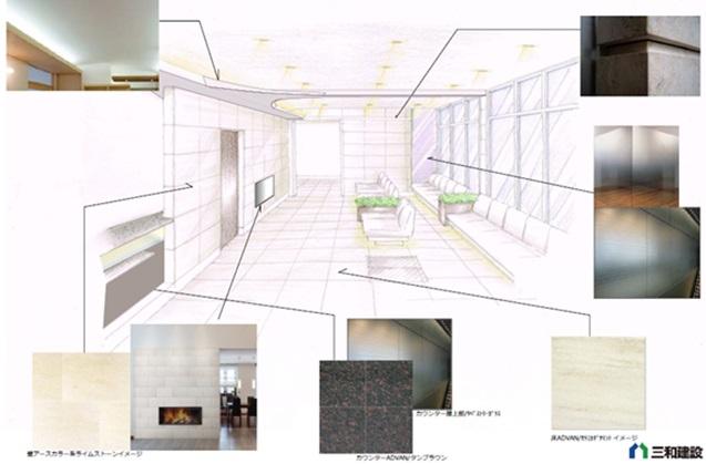 大阪堺市医院建築イメージ