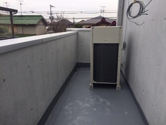 手術室には専用のクリーンエアコンの室外機