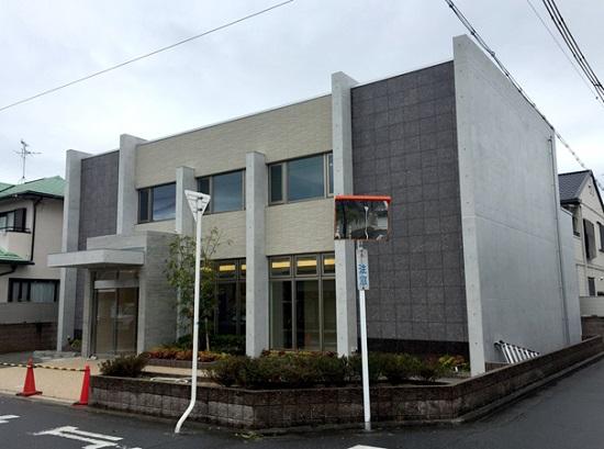 大阪堺市鉄筋コンクリート2階建医院完成
