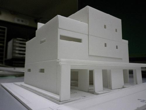 建築模型による提案