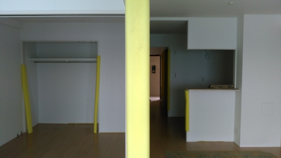 上階の住居部分(2LDK)