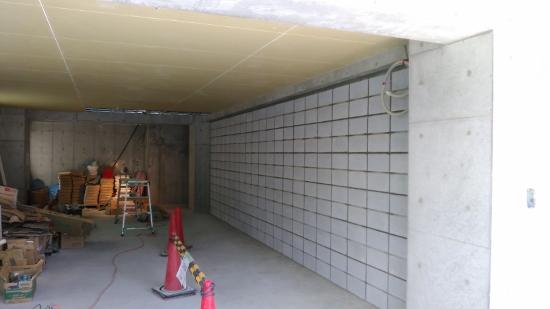 建物の1階部分の界壁(間仕切り壁)