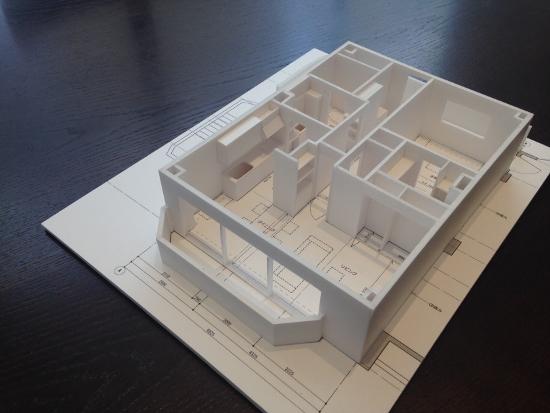 コンクリート建物の一室を丸ごと改装