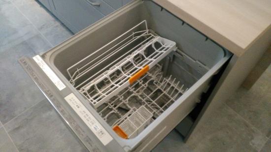 パナソニック製食器洗乾燥機(内部)