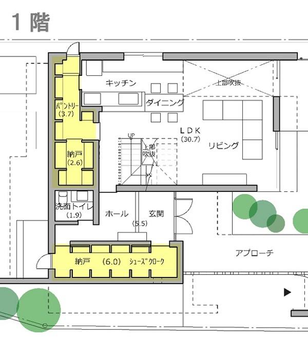 「RCギャラリー西宮」1F収納スペース