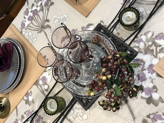 ひと足先に季節を感じる~秋色のテーブルコーディネート~⑦