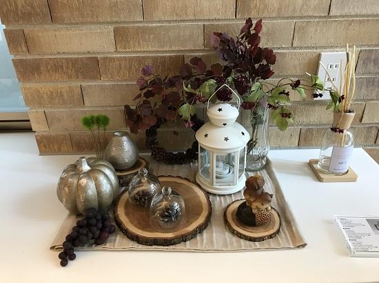 ひと足先に季節を感じる~秋色のテーブルコーディネート~⑧