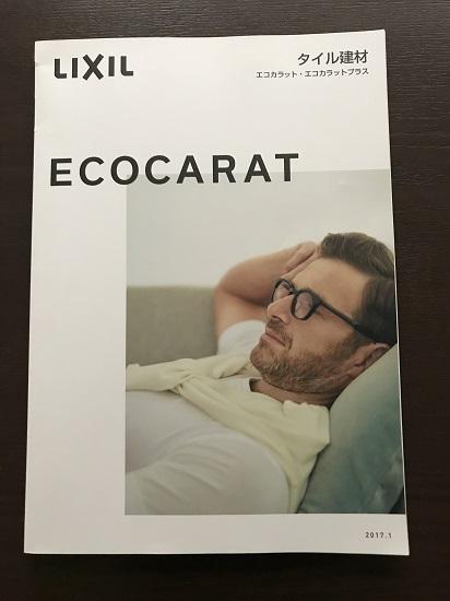 エコカラットパンフレット表紙