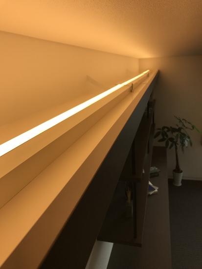 寝室間接照明取付箇所