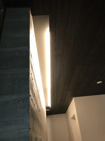 玄関間接照明取付箇所