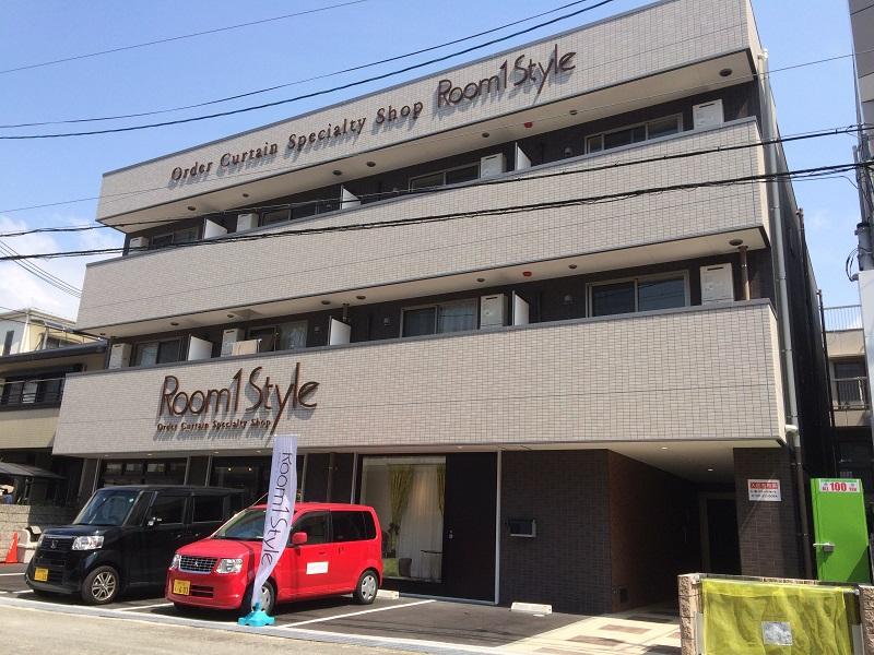 RC造3階建て、ファミリータイプの賃貸マンション