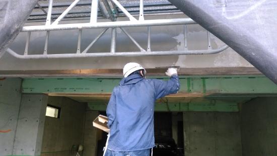 外壁仕上げの下地処理
