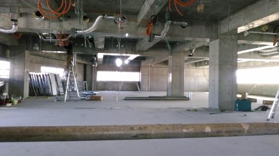 4階はスタッフが利用するスペース