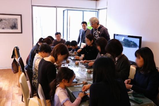 レザーコインケース&キーホルダー作り教室②
