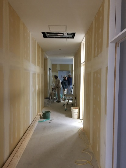 クロスや床材といった内装仕上げ工事