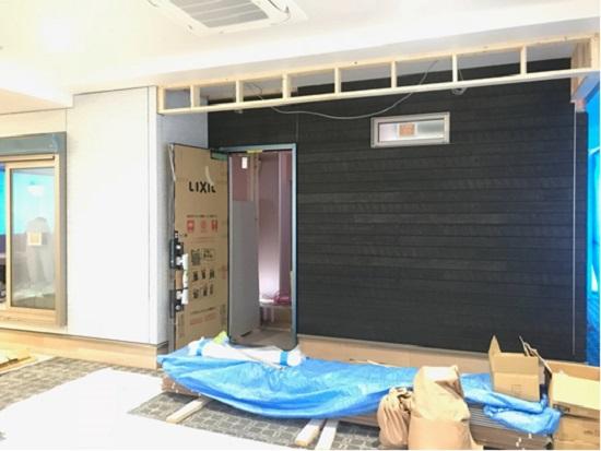 三和建設新社屋建設工事 3階木造住宅実物大モデルルーム②