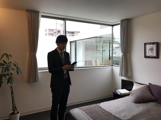 ④(2階寝室)で音の測定 結果