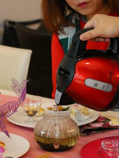 中国茶の美味しい淹れ方を教えていただきました①