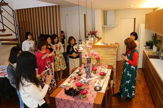 「春のティーテーブル&ヌーベルシノワな花茶会」を開催