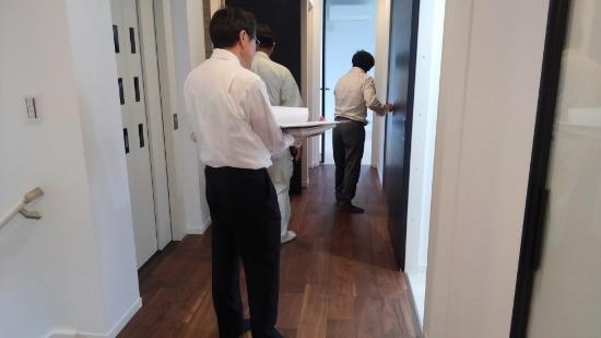 お引渡し前のお施主様立会い検査①