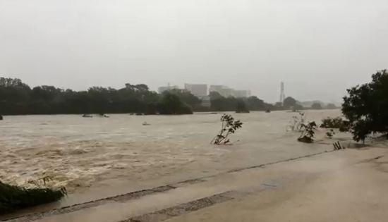 2018.7.5から7.7にかけての大雨 武庫川
