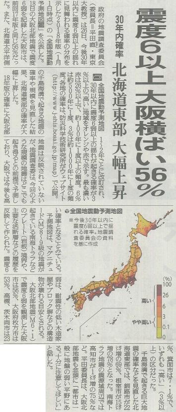 2018.6.26読売新聞夕刊1面より引用
