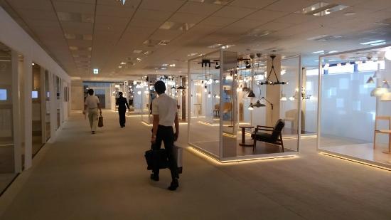 グランフロント大阪コイズミ照明ショールーム