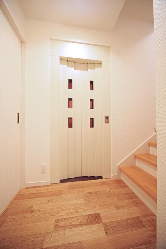 ホームエレベーター施工例②