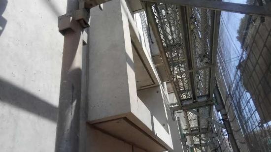 外観のアクセントRC打込み出窓