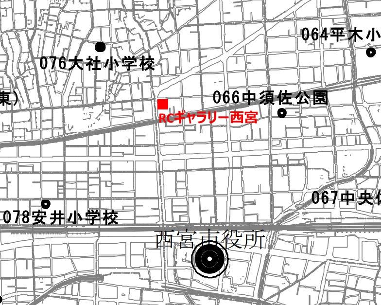 西宮市HP 防災スピーカー配置図PDFより引用