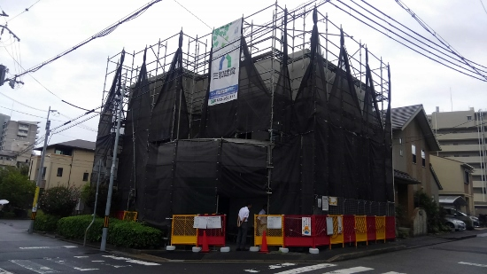 宝塚市内鉄筋コンクリート住宅上棟式