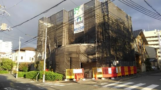 宝塚で建築中の鉄筋コンクリート住宅の現場をリポート
